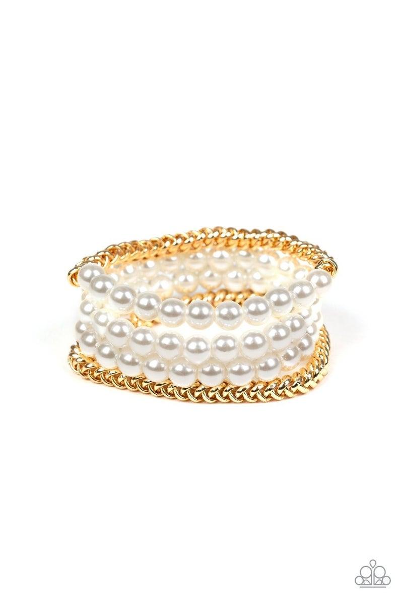 Industrial Incognito Gold Bracelet
