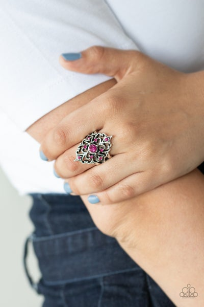Imperial Iridescent Pink Ring