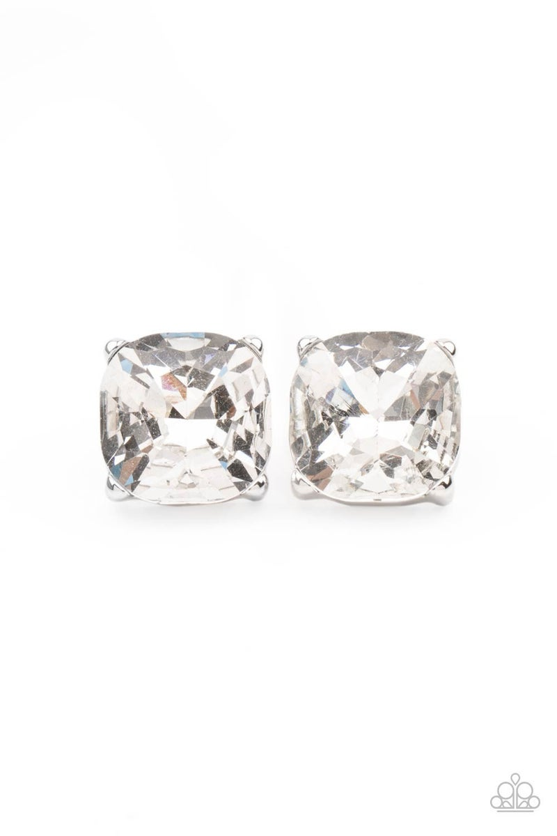 Royalty High - White Post Earring