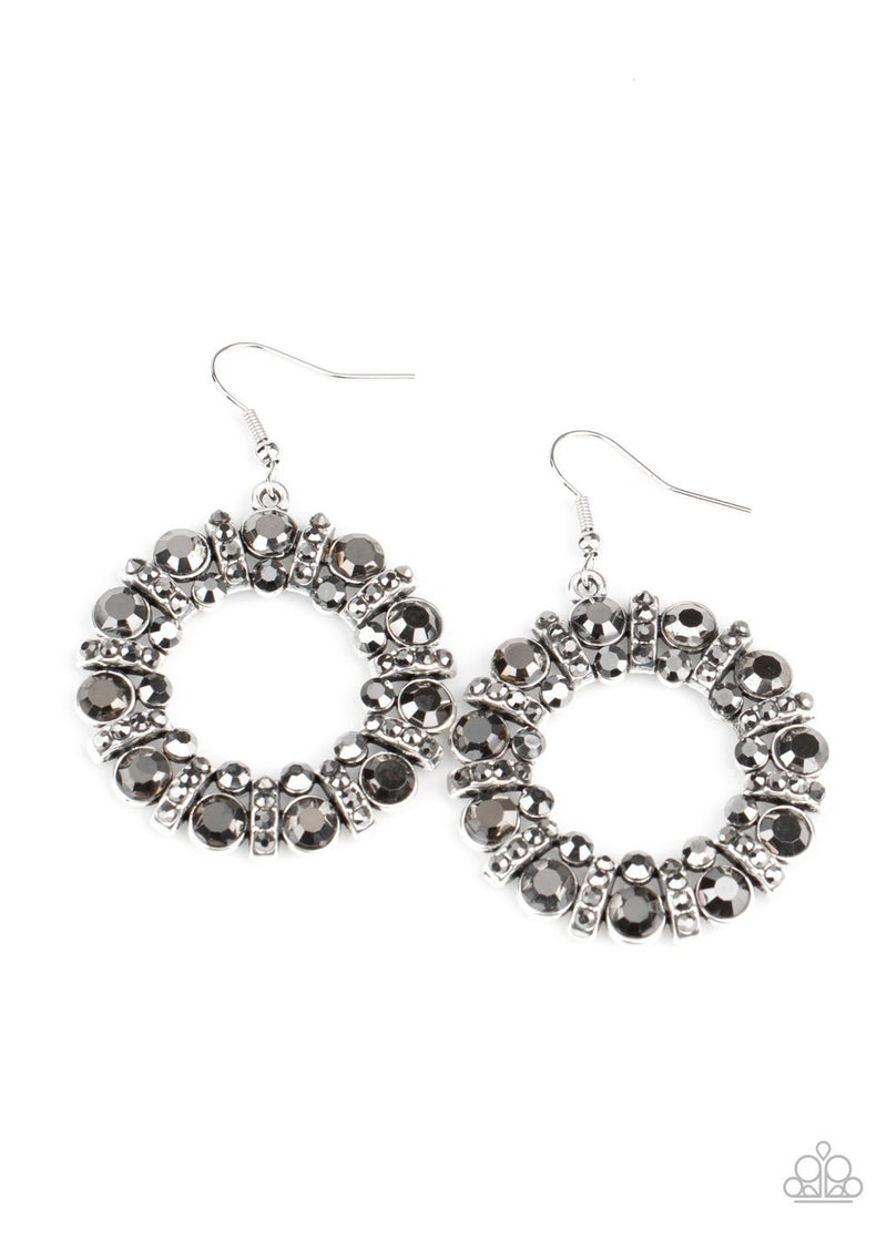Baby Its Cold Outside Silver Earring