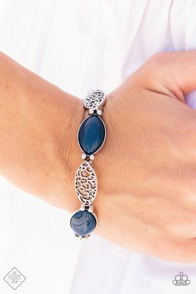 Garden Rendezvous - Blue Bracelet - PREORDER