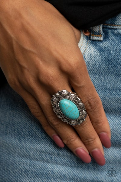 Bring Down The RANCH House Blue  Ring - PREORDER