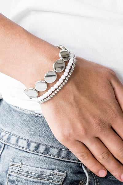 Beyond the Basics White Bracelet