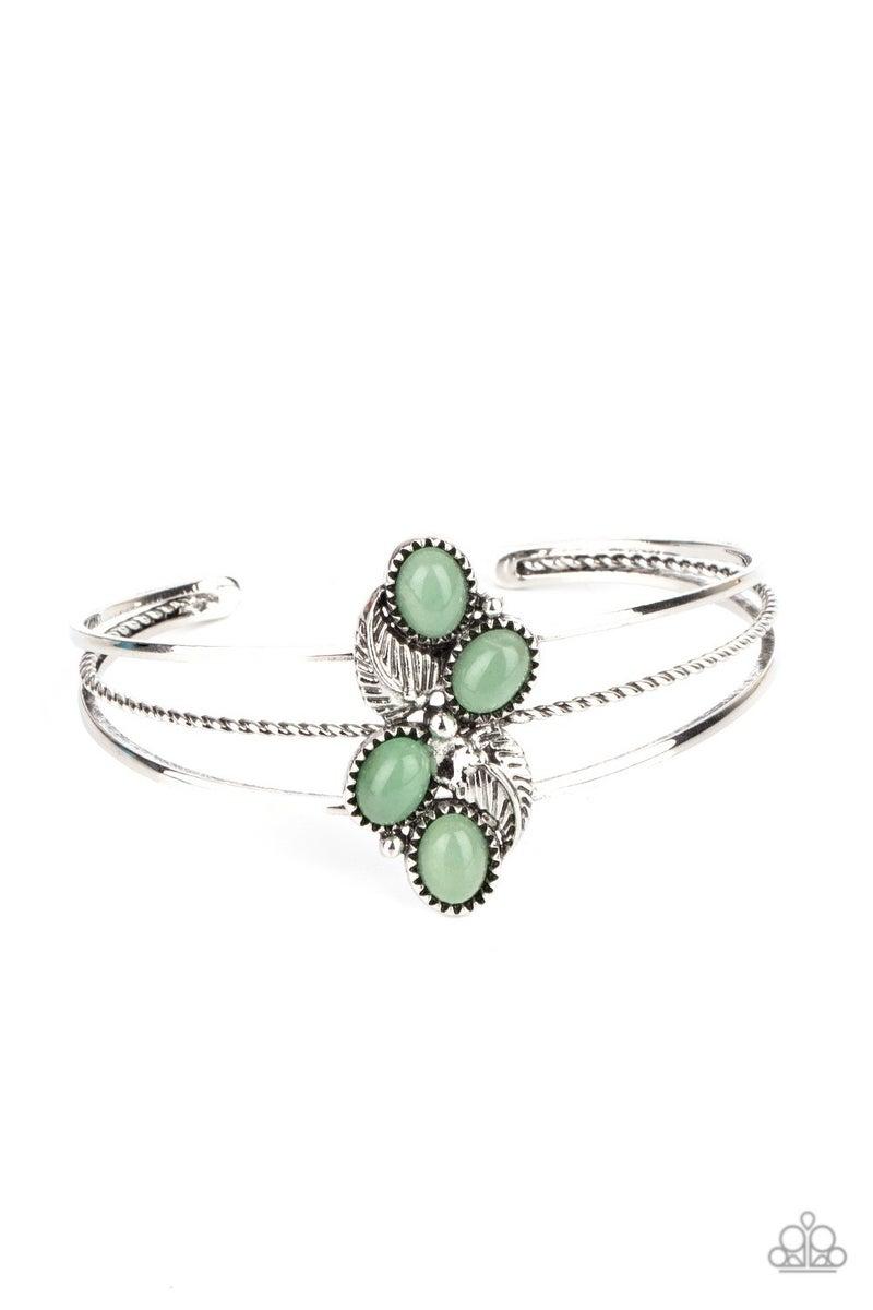 Eco Enthusiast Green Bracelet