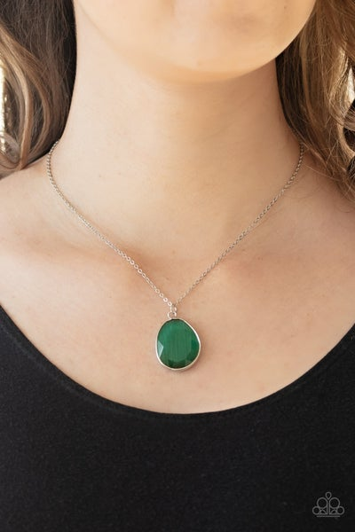 ICY Opalescence Green Necklace