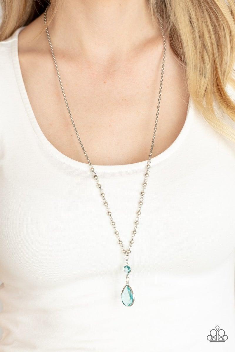 Titanic Splendor Blue Necklace - PREORDER
