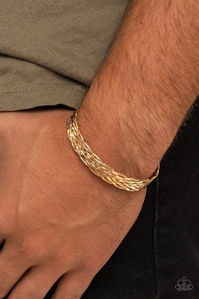 Magnetic Maven Gold Urban Bracelet
