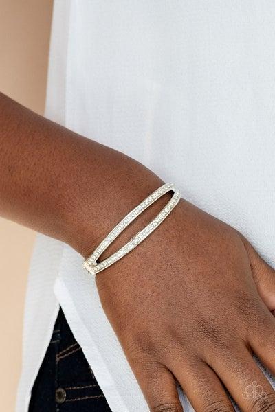 A Show of FIERCE White Bracelet