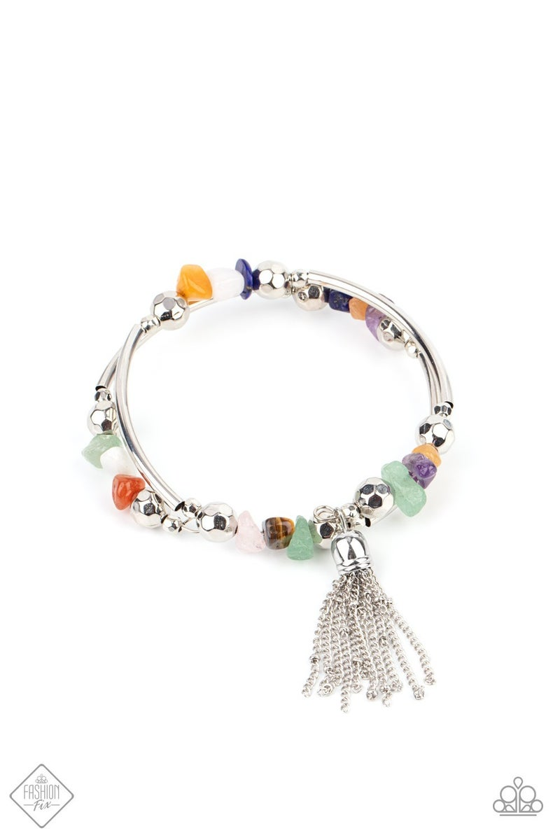 Mineral Mosaic Multi Bracelet -Fashion Fix