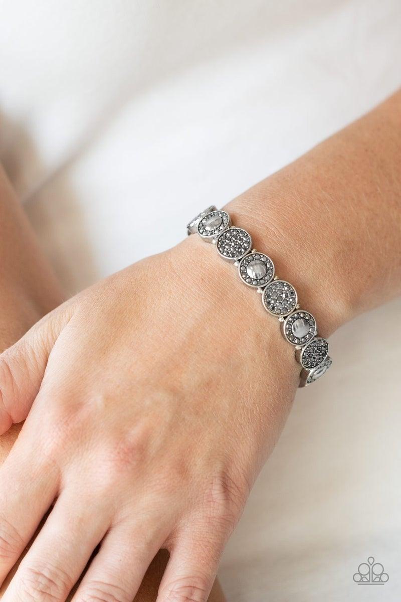 Glamour Garden Silver Bracelet