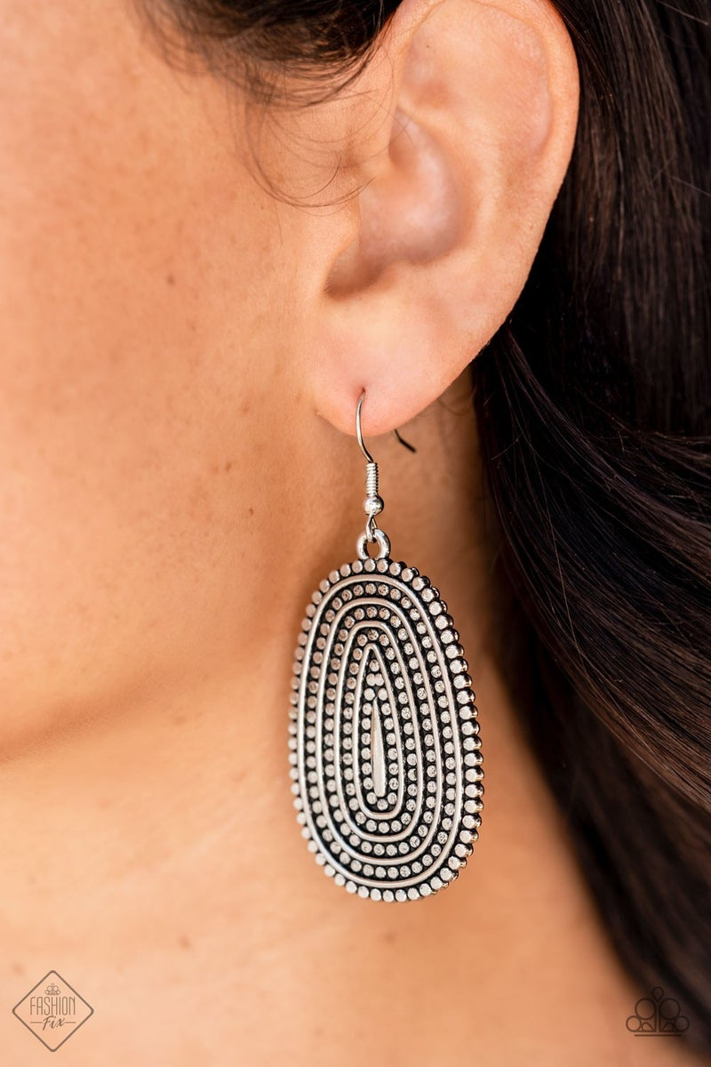 Desert Climate Silver Earring - PREORDER August FF