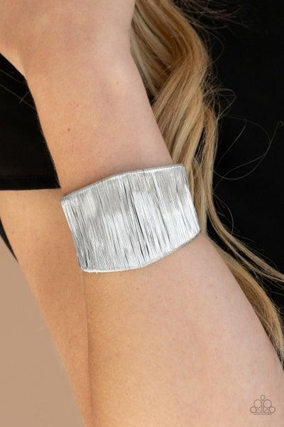 Hot Wired Wonder Silver Bracelet