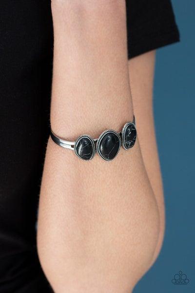 Stone Shrine Black Bracelet