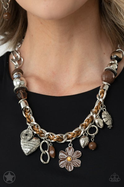 Charmed I am Sure Brown Necklace