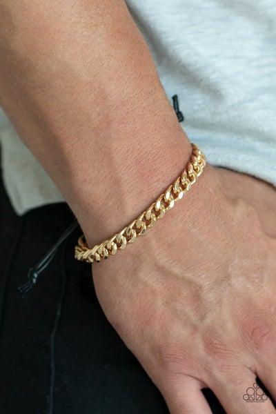 Throwdown Gold Urban Bracelet
