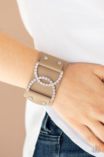 Couture Culture Brown Urban Bracelet