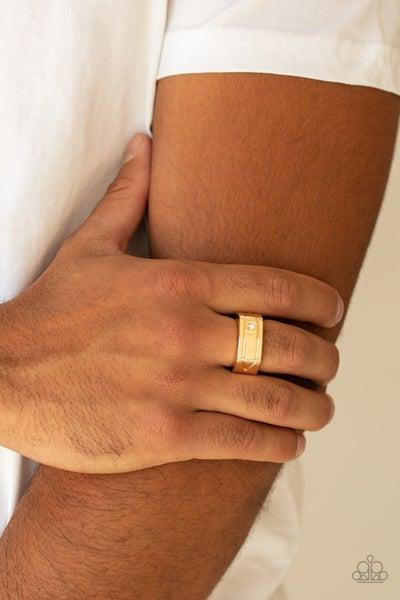 Atlas Gold Ring