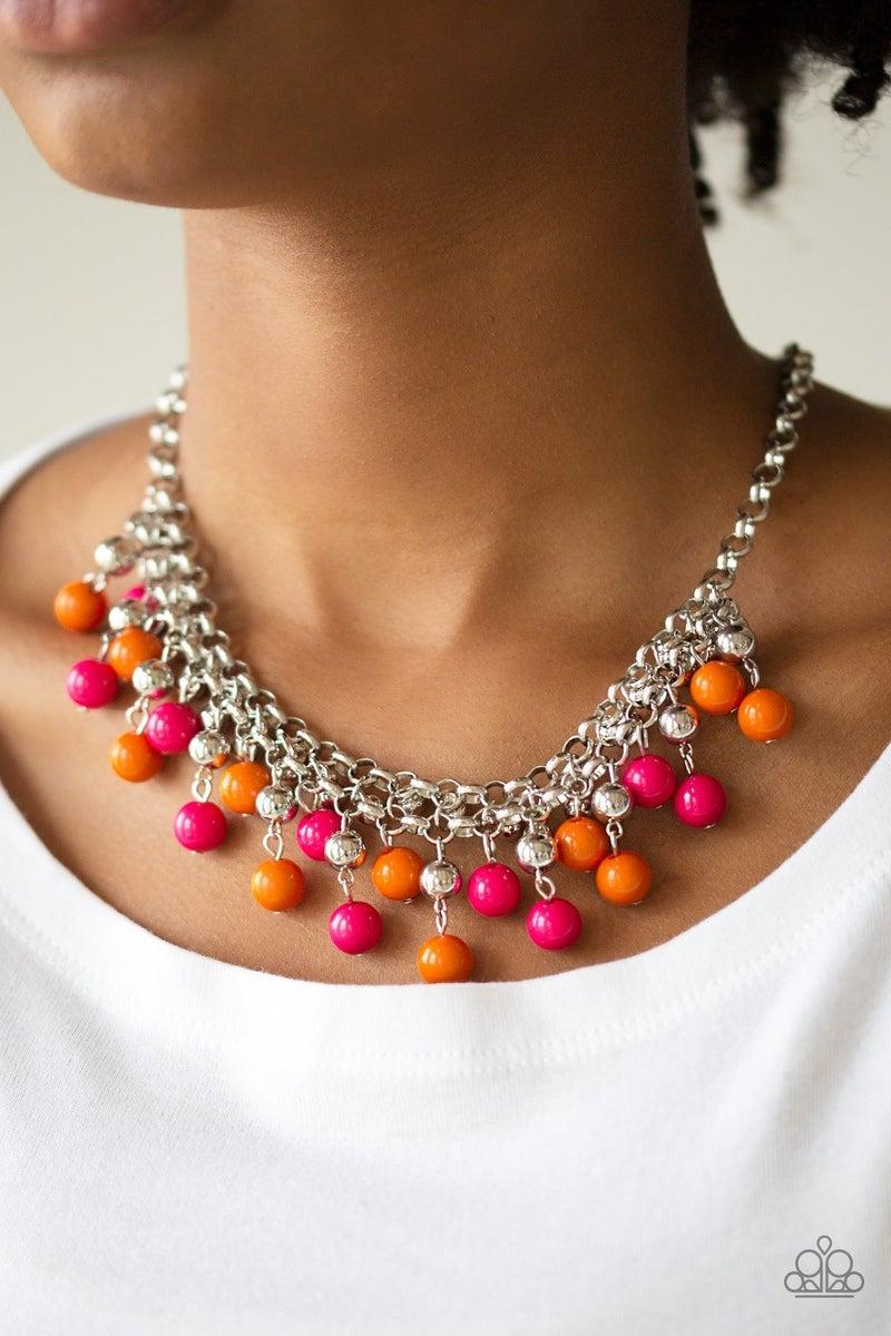 Friday Night Fringe Multi Necklace