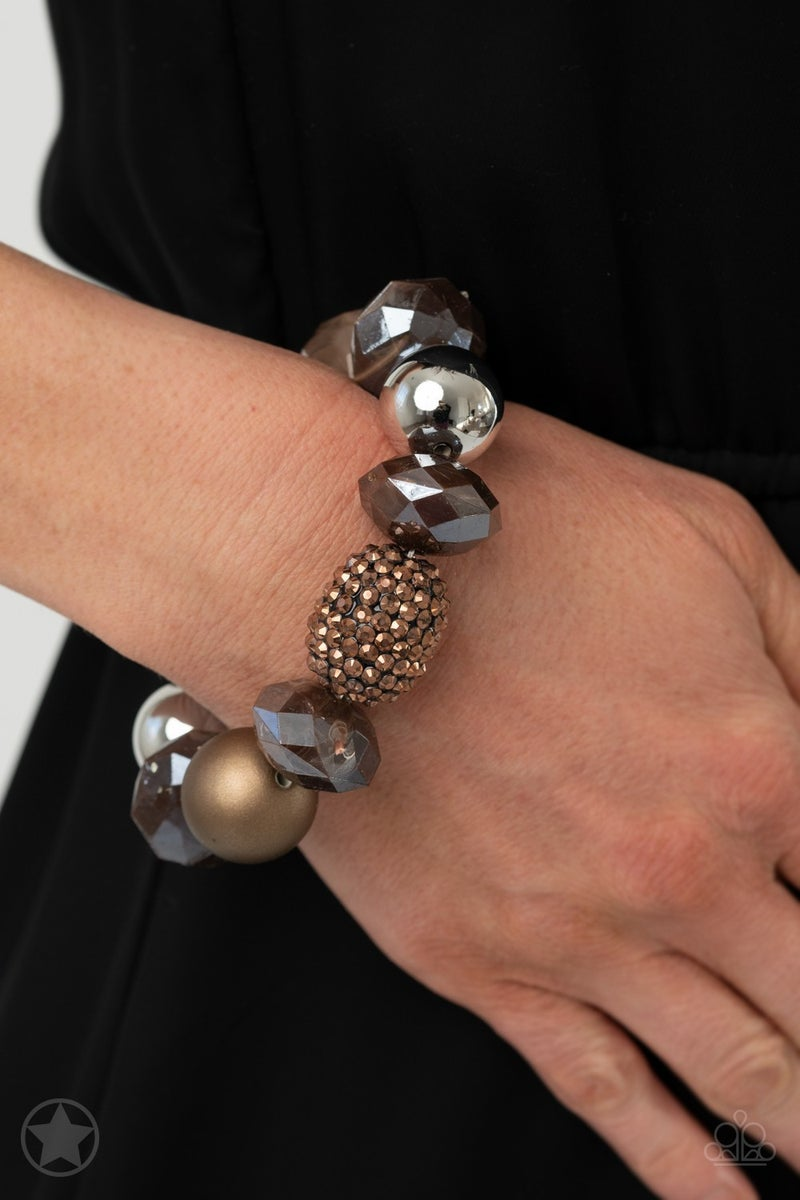 All Cozied Up Copper Bracelet - Sparkle with Suzanna