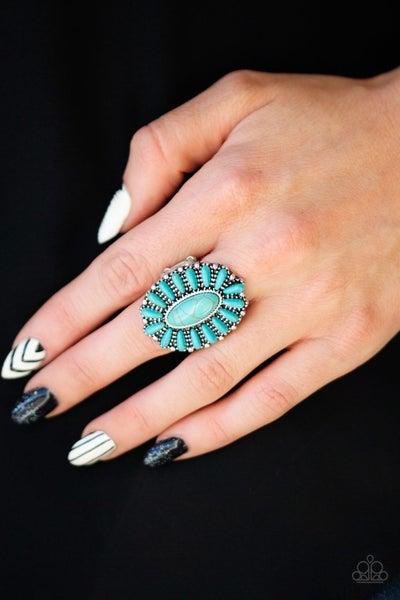 Cactus Cabana Blue Ring