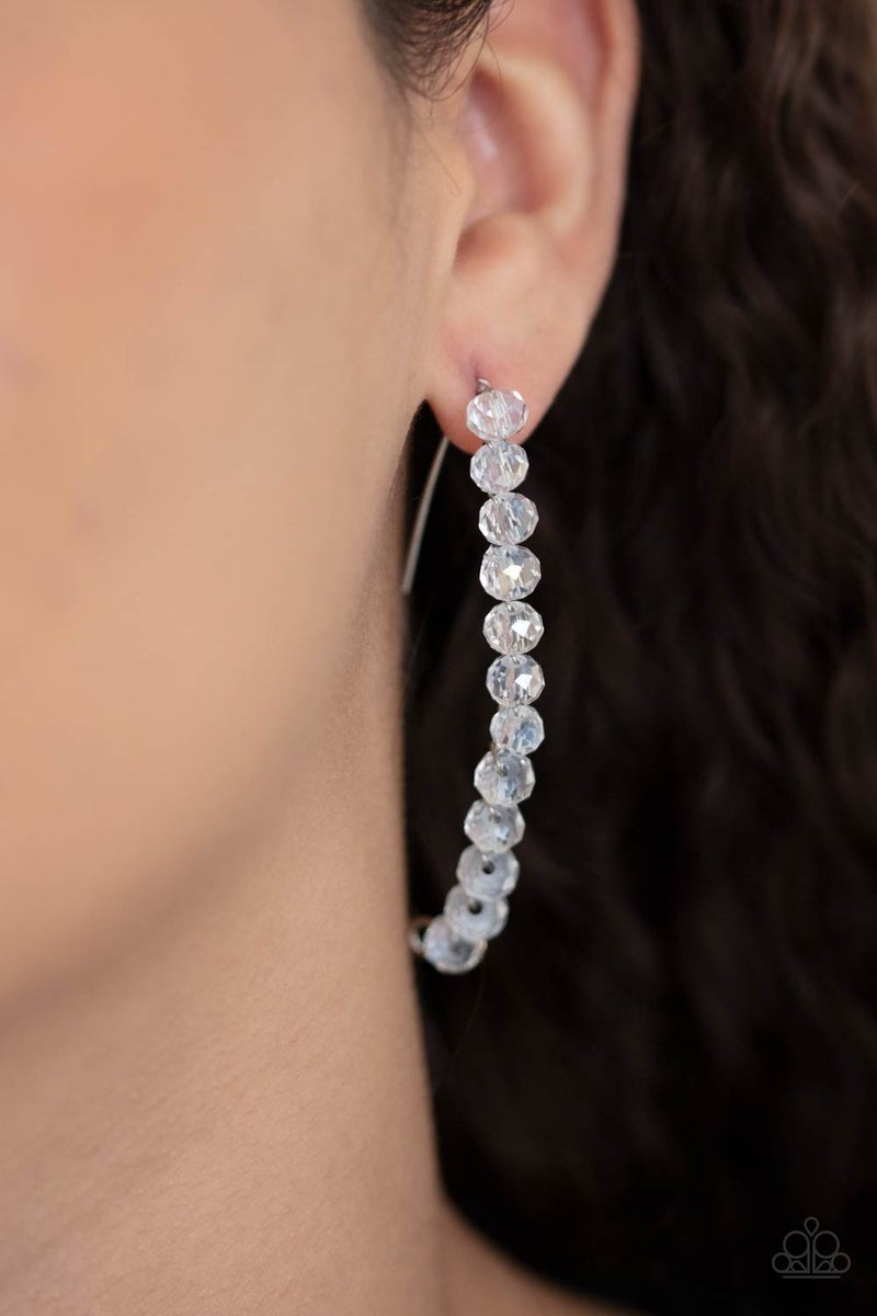 GLOW Hanging Fruit White Post Earring