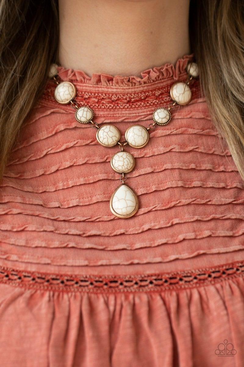 Terrestrial Trailblazer Copper Necklace
