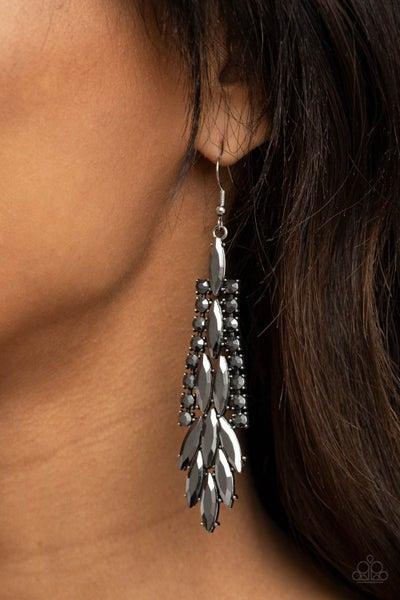 Crown Heiress Silver Earring