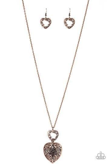 Garden Lovers Copper Necklace