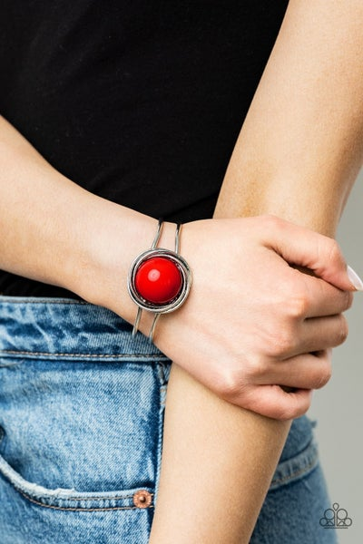 Take It From The POP! Red Bracelet