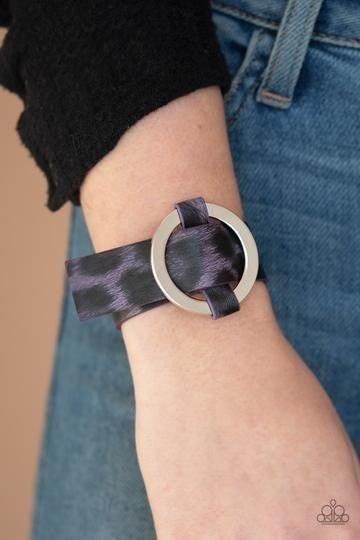 Jungle Cat Couture Purple Bracelet