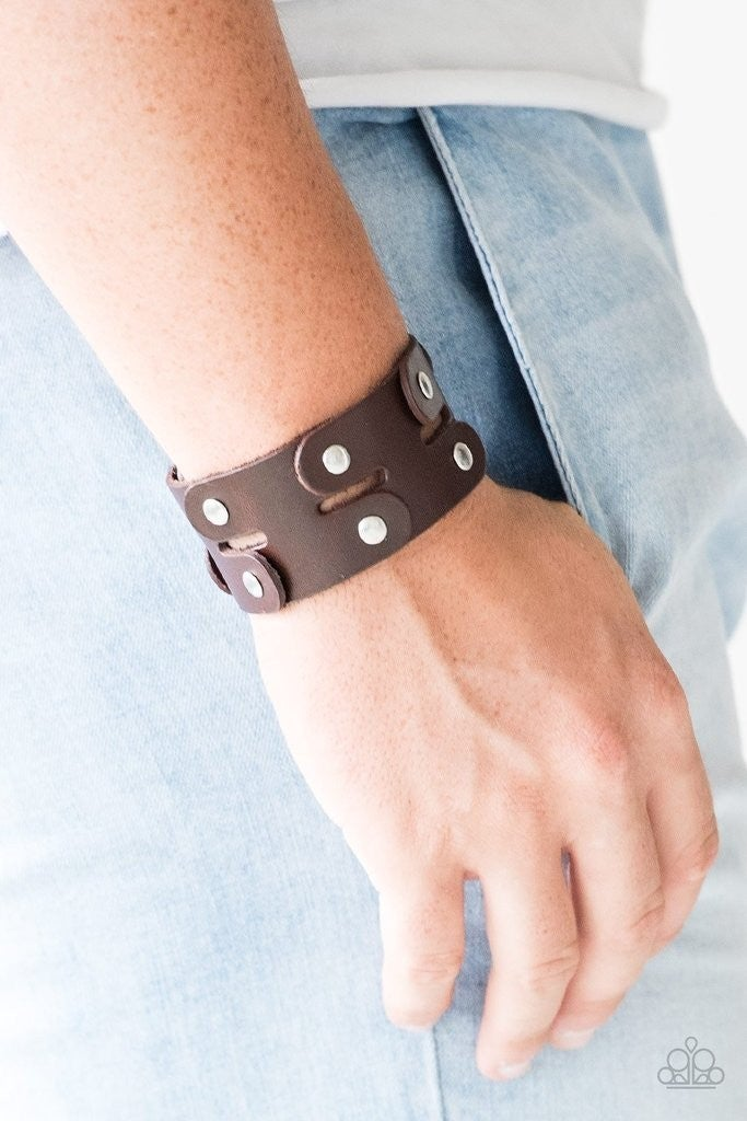 Downright Desperado Brown Urban Bracelet