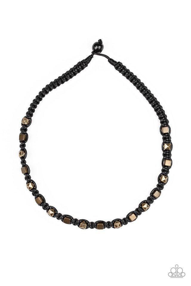 Grunge Rush Black Urban Necklace