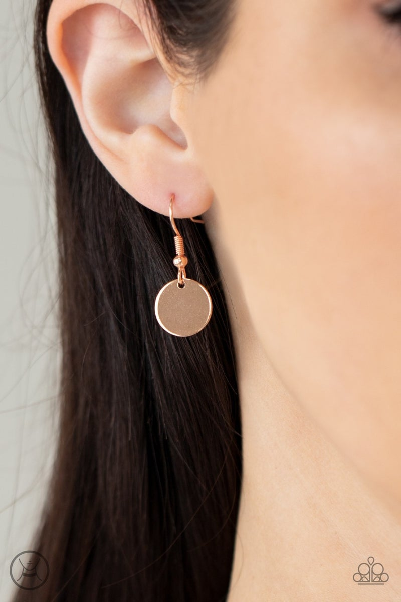 Modestly Minimalist Copper Necklace