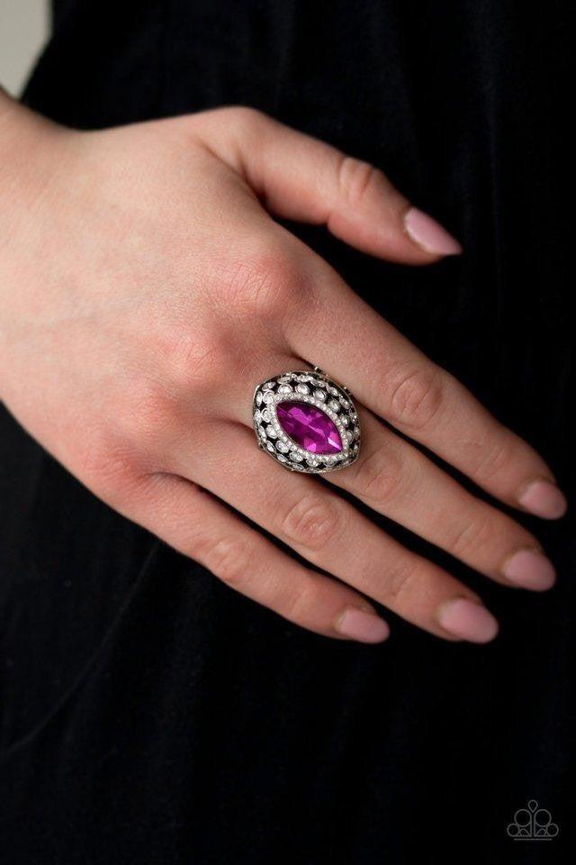Royal Radiance Pink Ring