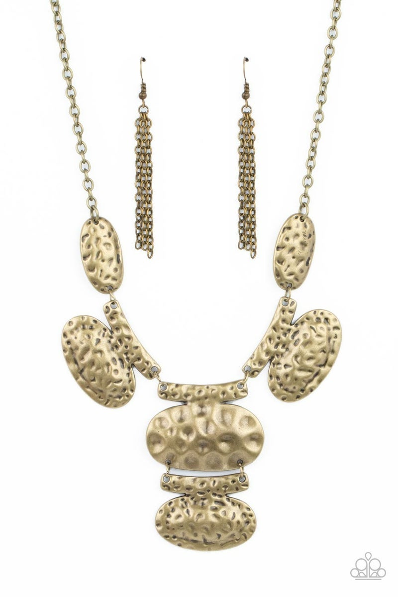 Gallery Relic Brass Necklace - Sparkle with Suzanna