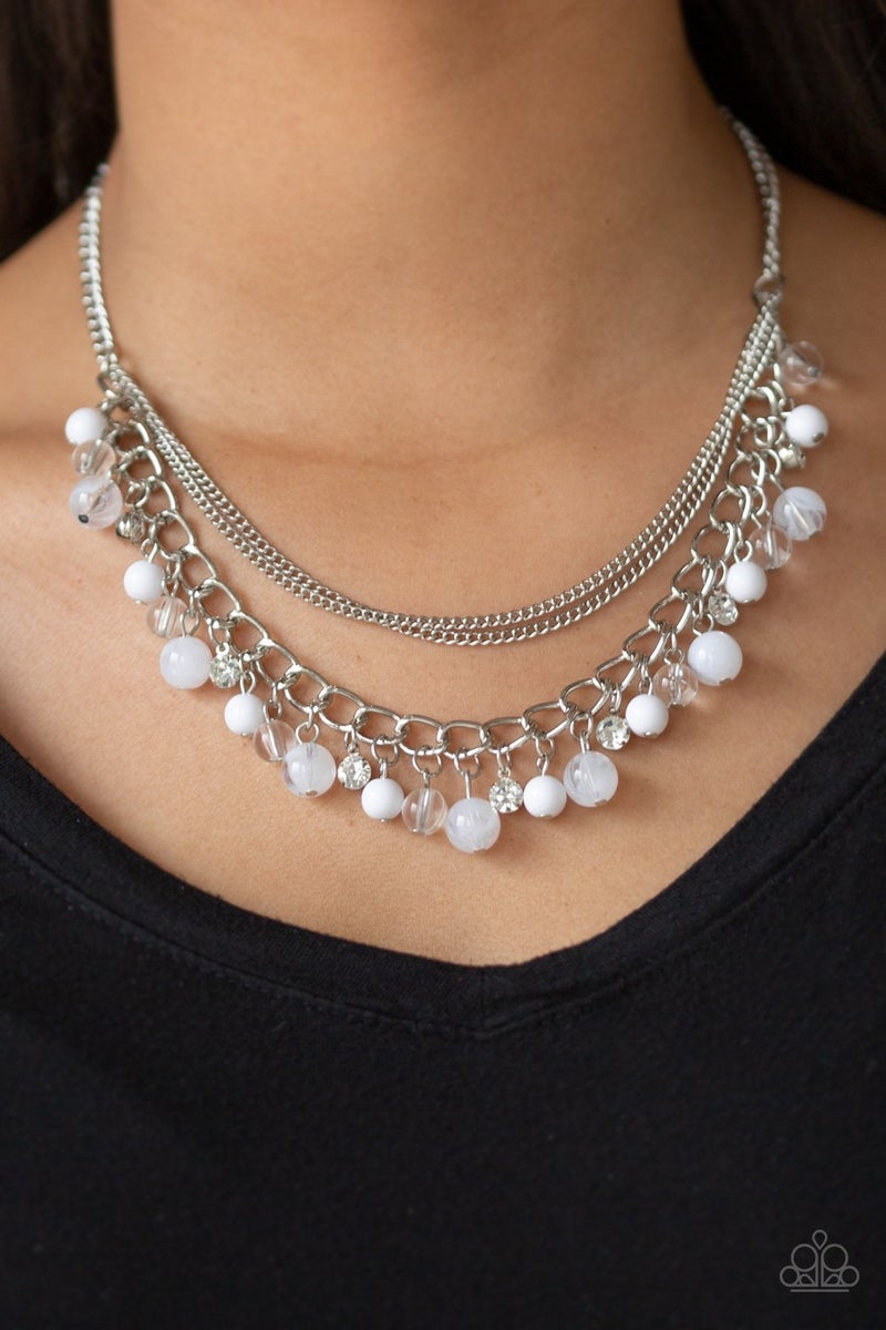 Wait and SEA White Necklace