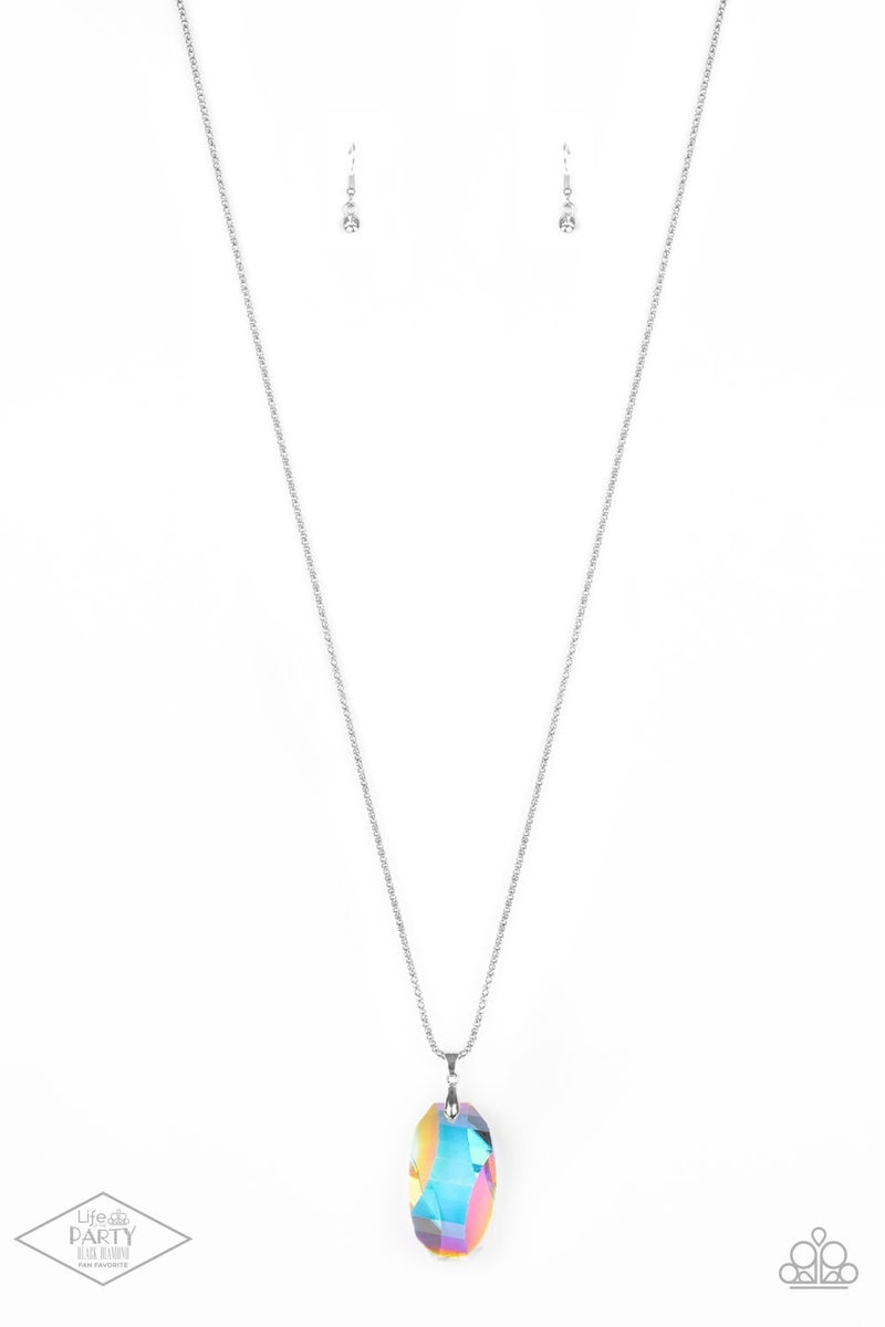 Gemstone Grandeur - Unicorn Rhinestone Necklace