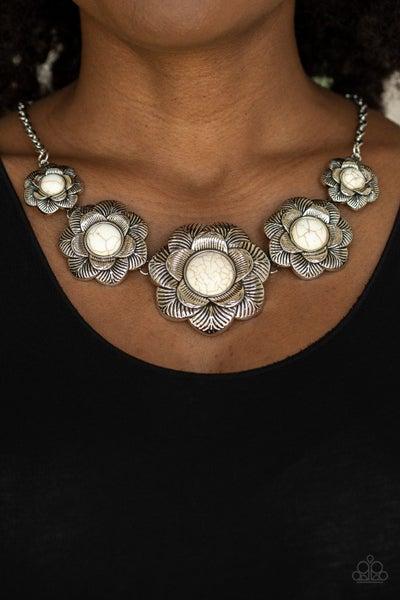 Santa Fe Hills White Necklace