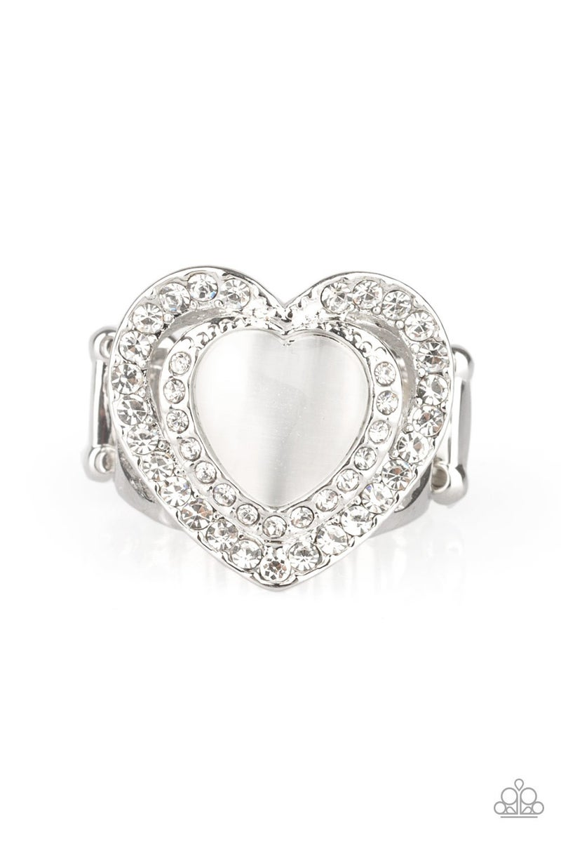 What the Heart Wants White Ring