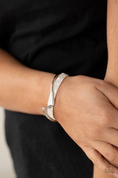 Craveable Curves  White Bracelet