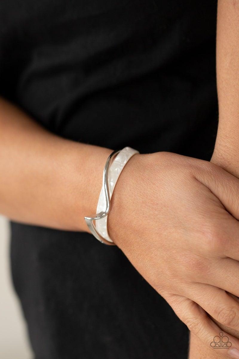 Craveable Curves  White Bracelet - PREORDER