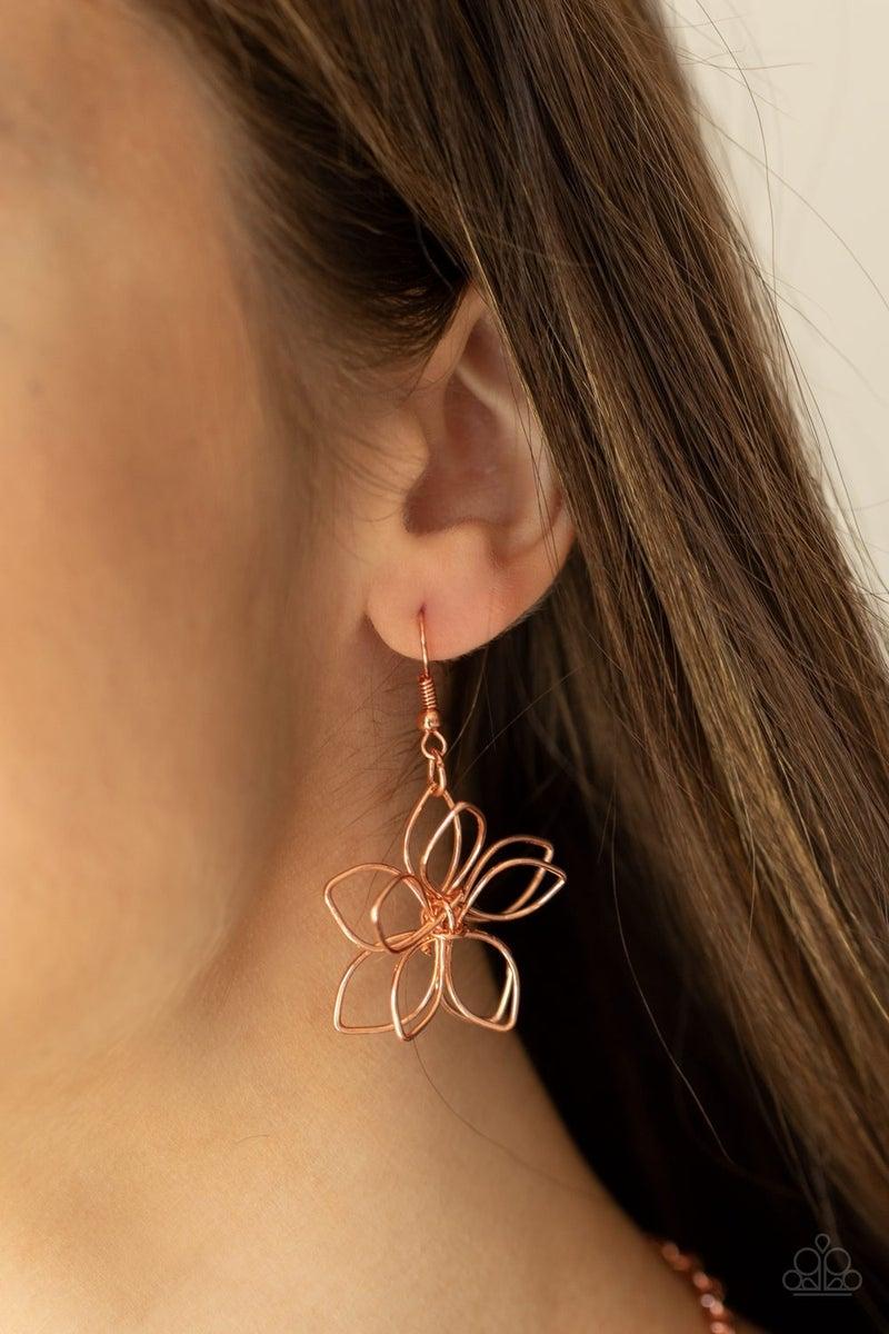 Flower Garden Fashionista Copper Necklace - PREORDER