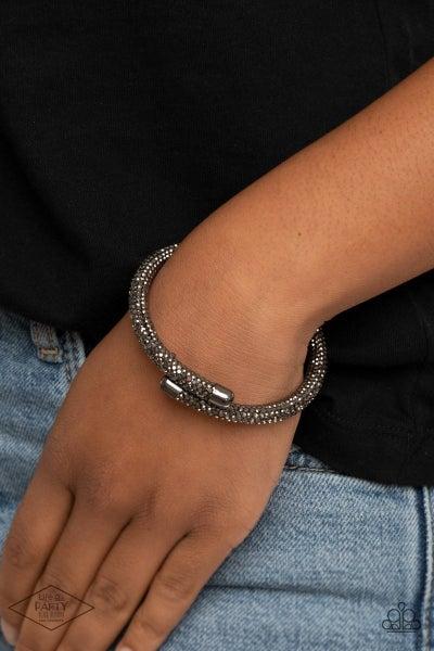 Stageworthy Sparkle Black Bracelet