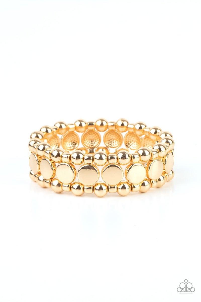 Metro Magnetism Gold Bracelet