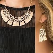 Jungle Cat Jam Gold Necklace