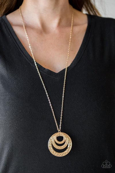 Savagely She Wolf Gold Necklace