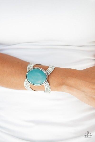 Coyote Couture Blue Bracelet