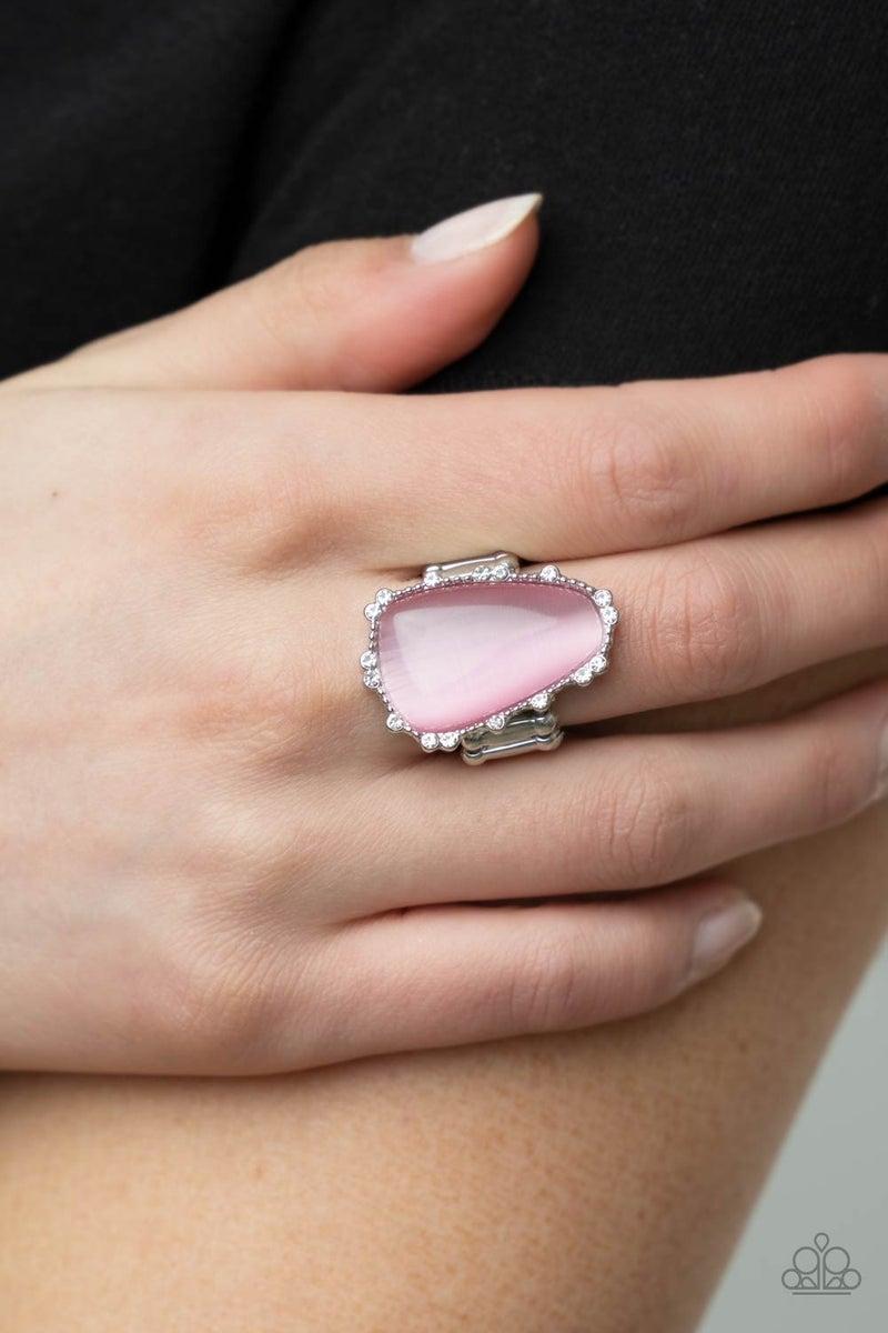 Newport Nouveau Pink Ring