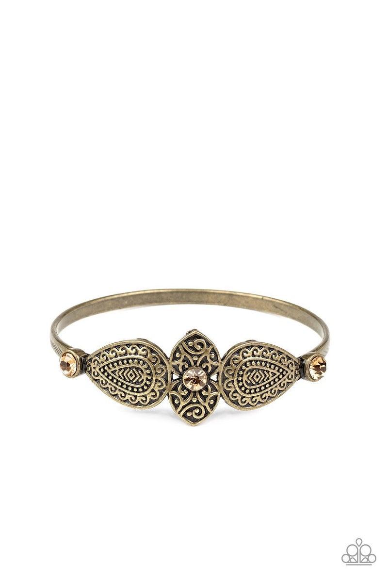 Flourishing Fashion Brass Bracelet