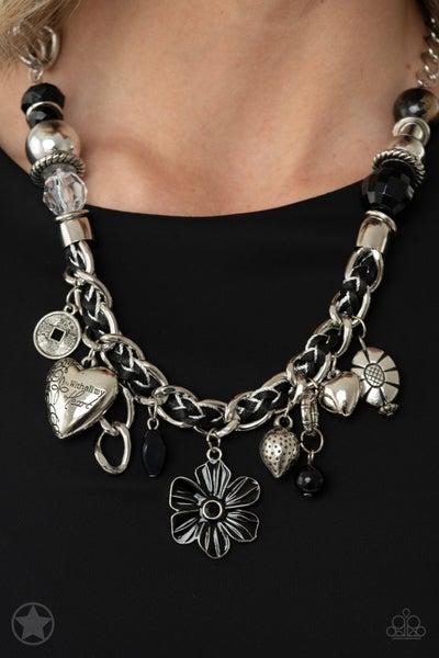Charmed I am Sure Black Necklace
